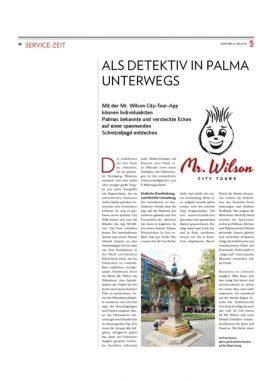 Zeitungsartikel InselZeitung Seite 1